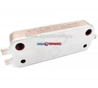 Теплообменник вторичный 12 пластин Bosch Gaz 2000 W, 6000 W 12C, 18C (87186446230.A)