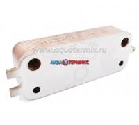 Теплообменник вторичный 16 пластин Bosch Gaz 6000 W 24C (87186446250.A)