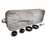 Теплообменник вторичный 12 пластин Bosch Gaz 2000 W, 6000 W 12C, 18C (87186446230)