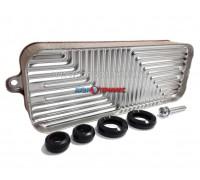 Теплообменник вторичный 16 пластин Bosch Gaz 6000 W 24C (87186446250)