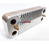 Пластинчатый теплообменник Swep 12 пластин Viessmann Vitopend WH1B 24 кВт (7825533S)