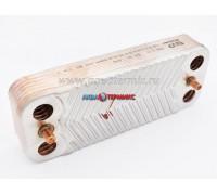 Теплообменник пластинчатый ГВС 12 пластин Immergas (3.021692)