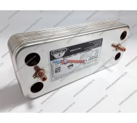 Теплообменник вторичный ГВС Zilmet 16 пластин Chaffoteaux (65104333-16)