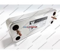 Теплообменник ГВС Zilmet 12 пластин Saunier Duval (S1016600)