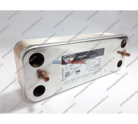 Теплообменник ГВС Zilmet 16 пластин Saunier Duval (S1024800)