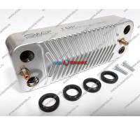 Теплообменник ГВС 16 пластин Saunier Duval (S1024800)