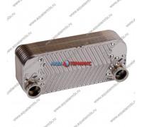 Теплообменник ГВС 16 пластин 4 фланца Daewoo DGB 250-300 MSC, 200-250 MCF (3318112400)