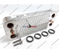 Пластинчатый теплообменник 10 пластин Viessmann Vitopend 100-W A1JB 12 кВт, 24 кВт (7856846)