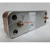 Теплообменник пластинчатый для ГВС 14 пластин Baxi (5686680) - запчасть для котла