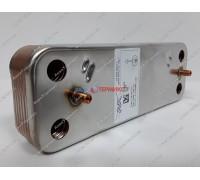 Теплообменник пластинчатый для ГВС 12 пластин Baxi (5686670) - запчасть для котла