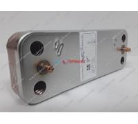 Теплообменник пластинчатый для ГВС 10 пластин Baxi (711612600) - запчасть для котла