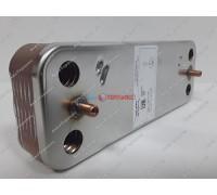 Теплообменник пластинчатый для ГВС 12 пластин Baxi (711612800) - запчасть для котла